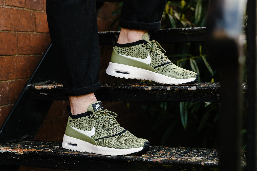 Women's Nike Wmns Air Max Thea Ultra FK Shoes Palm Green