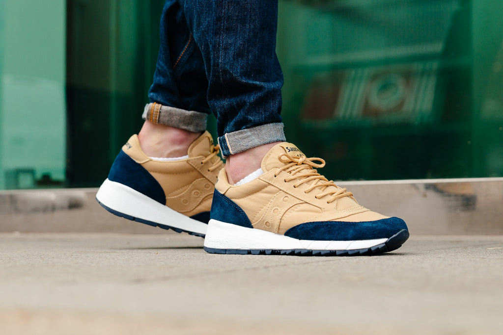 Saucony Jazz 91 Tan Blue