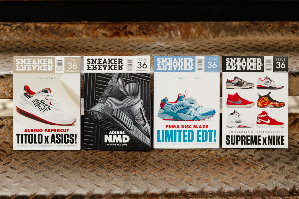SNEAKERFREAKER Issue 36 available NOW with Soleheaven
