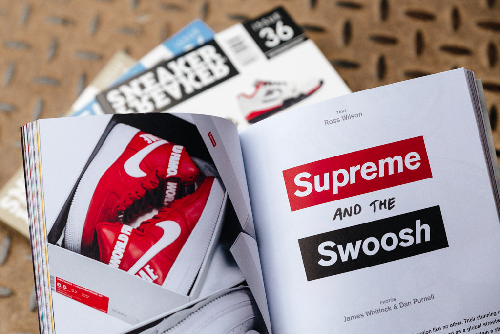 Sneaker Freaker issue 36 available NOW with Soleheaven