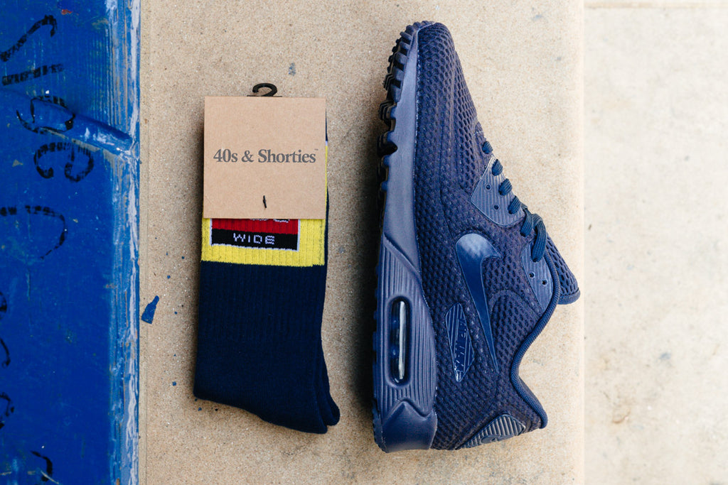 Navy BR Air Max 90 and Sport Lo available NOW