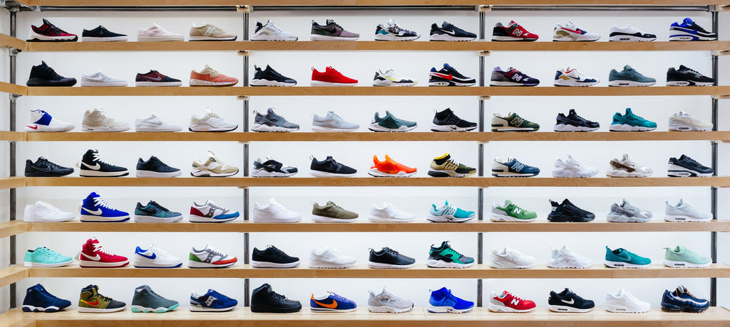 Soleheaven in store - Photograph by Ant Tran