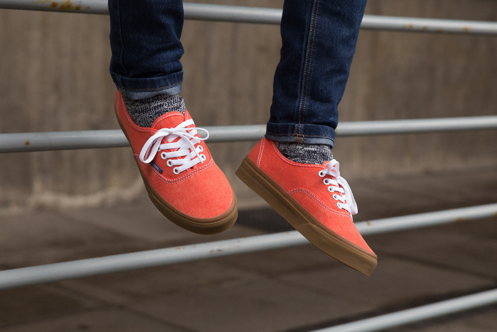 Vans Authentic in Cherry Tomato VA38EMMQS available to buy at Soleheaven now