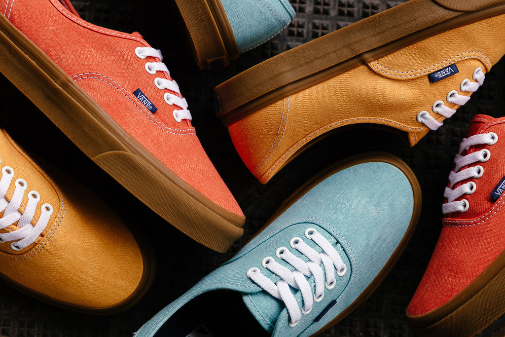 Vans Authentic Washed available to buy at Soleheaven now!