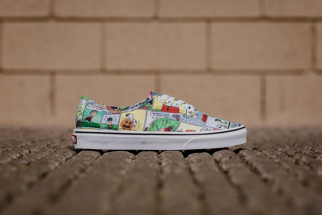 X Authentic Comics Peanuts Shoes Vans 7WBd4cza