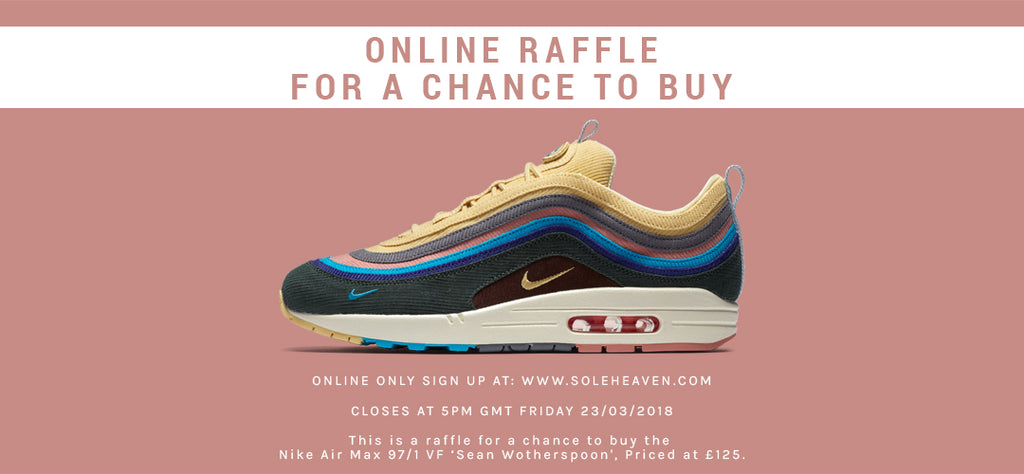 1725eea15f9f73 Nike Air Max 97 1 Sean Wotherspoon available at Soleheaven