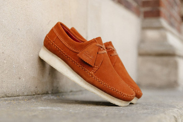 Clarks Originals Weaver Rust Suede 261199347 - soleheaven digital - 1