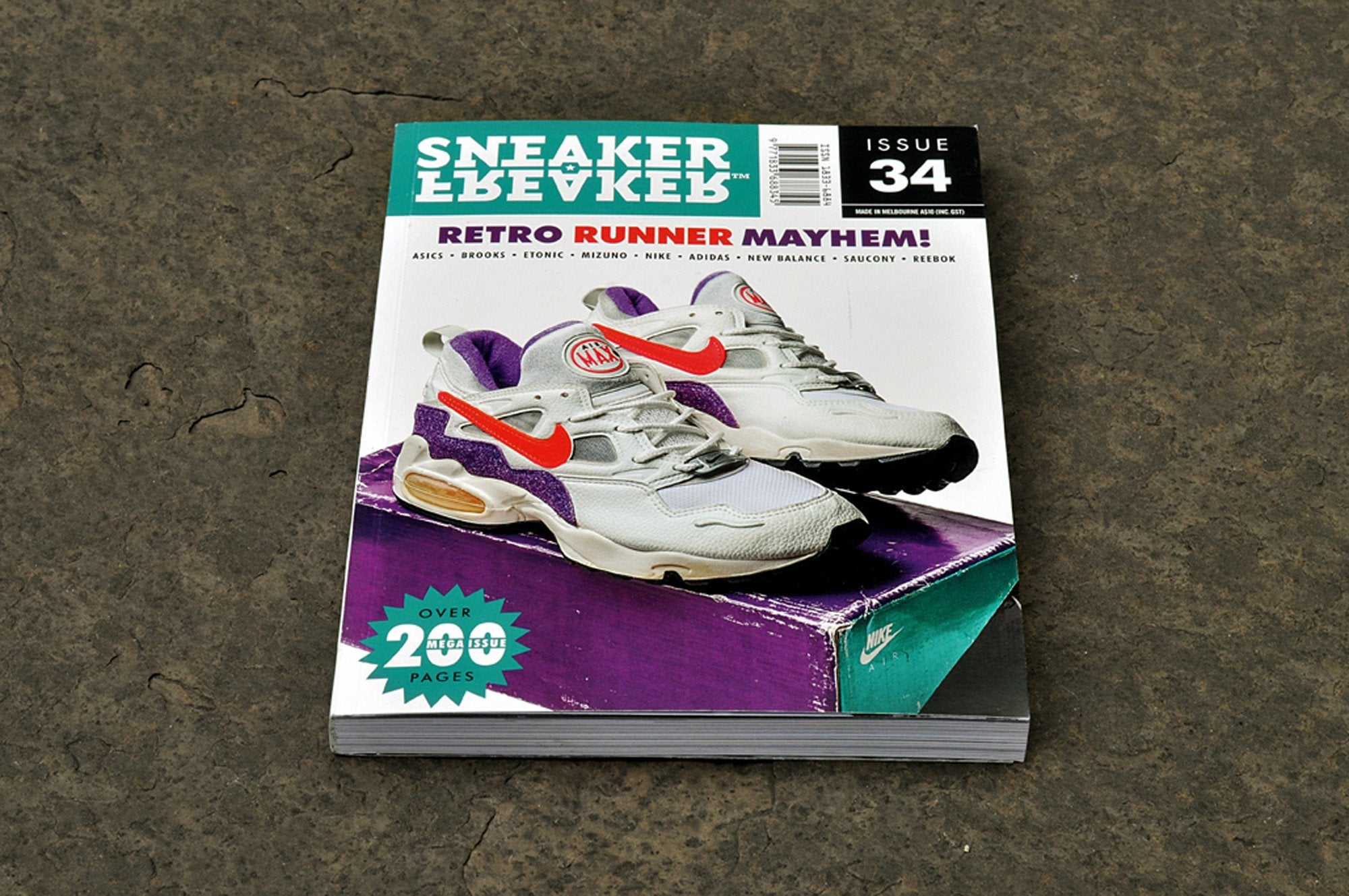 Sneaker Freaker Magazine 'Issue 34' - soleheaven digital - 2