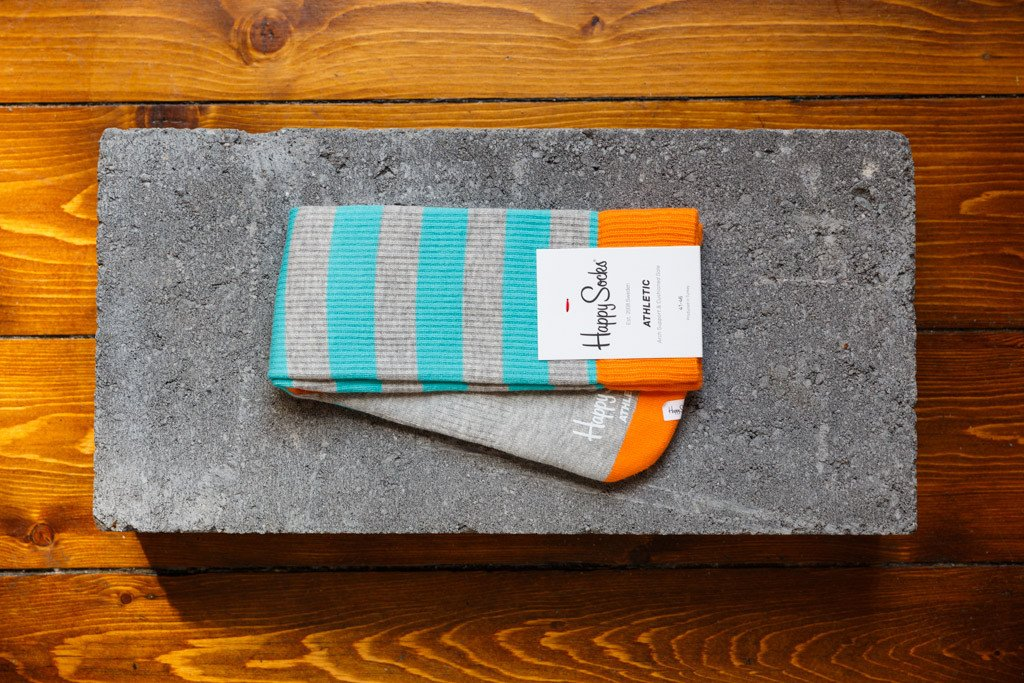 Happy Socks Athletic 'Stripe' ATSTR27-9000 - soleheaven digital - 1
