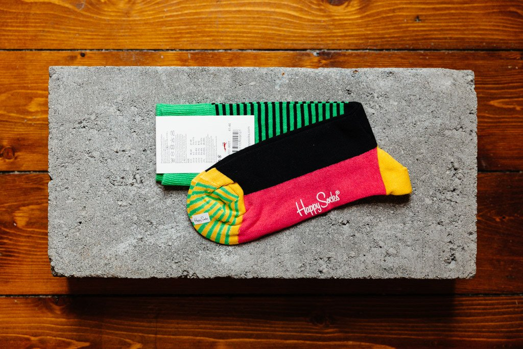 Happy Socks Half Stripe HAS01-9001 - soleheaven digital - 2