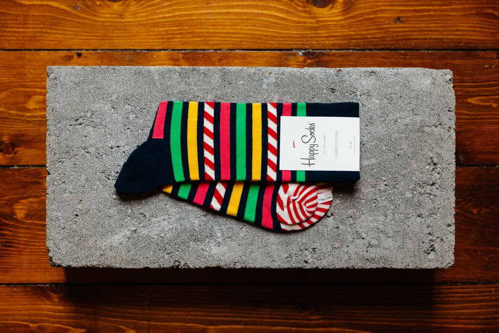 Happy Socks Stripe & Stripe SAS01-6000 - soleheaven digital - 1