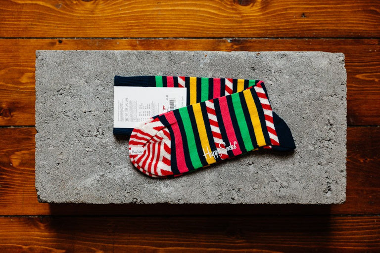 Happy Socks Stripe & Stripe SAS01-6000 - soleheaven digital - 2