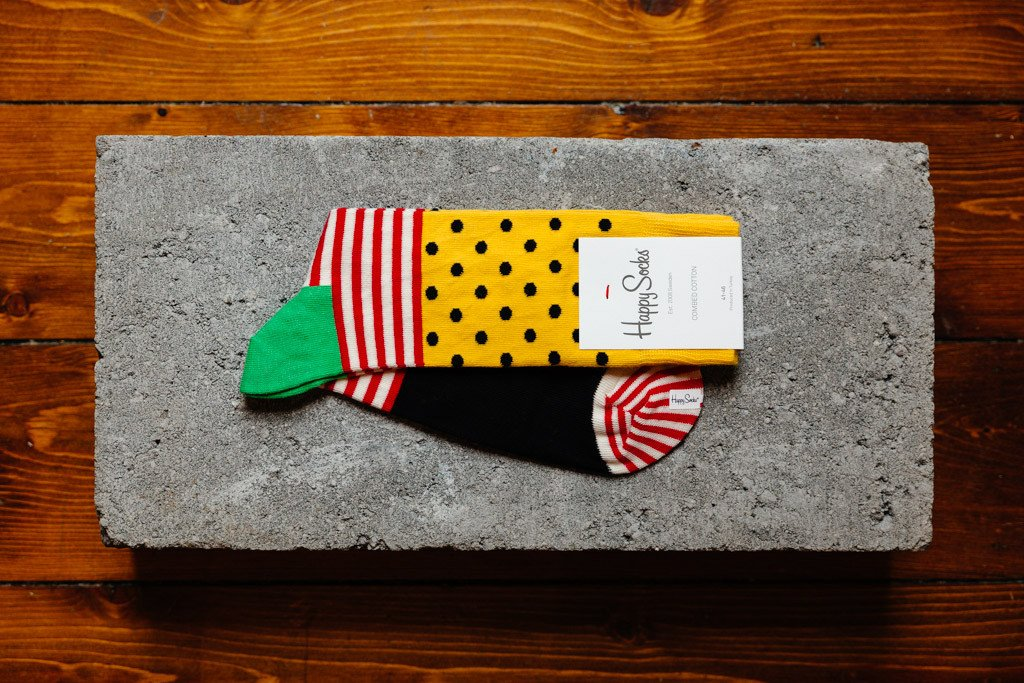 Happy Socks Stripe Dot SDO01-2000 - soleheaven digital - 1