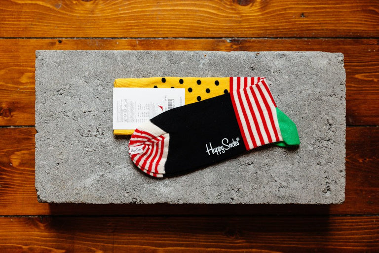 Happy Socks Stripe Dot SDO01-2000 - soleheaven digital - 2