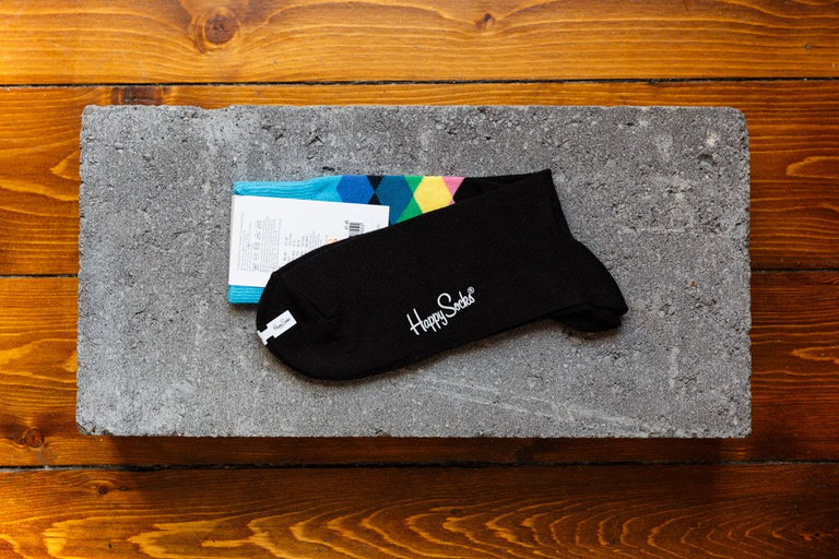 Happy Socks 'Faded Diamonds' FAD01-9001 - soleheaven digital - 2