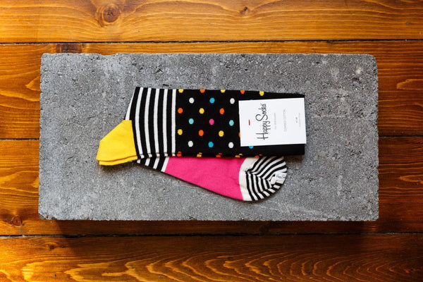 Happy Socks 'Stripe Dot' SDO01-9000 - soleheaven digital - 1