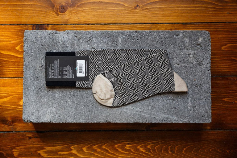 Happy Socks Dressed 'Divided Herringbone' DIH34-1000 - soleheaven digital - 2