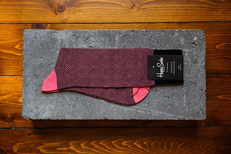 Happy Socks Dressed 'Divided Herringbone' DIH34-3000 - soleheaven digital - 1