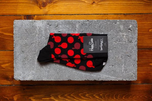 Happy Socks X Roberto Rodriguez 'Blood Dot' - soleheaven digital - 1