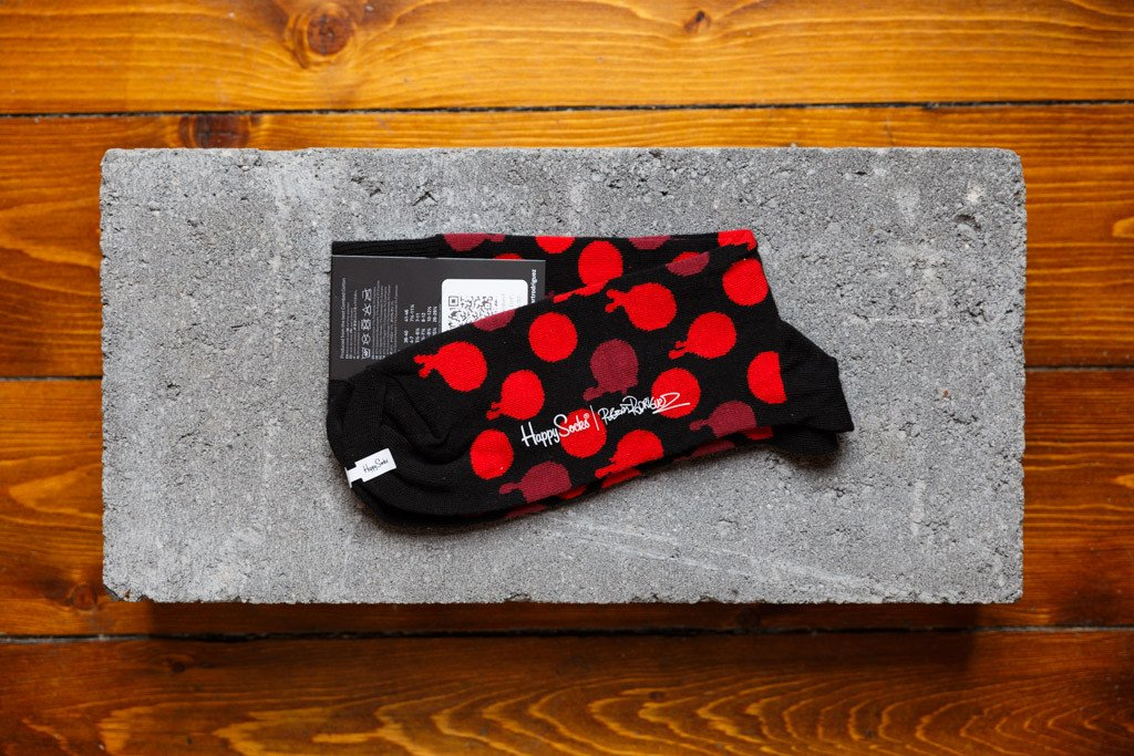 Happy Socks X Roberto Rodriguez 'Blood Dot' - soleheaven digital - 2