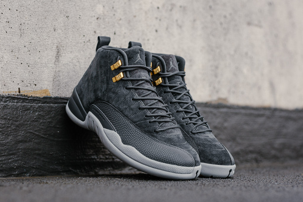 5e22e69f94c ... DARK GREY 130690-005 MENS 2017 NEW Air Jordan 12 Retro 130690-005,  Basketball, Air Jordan - SOLEHEAVEN ...