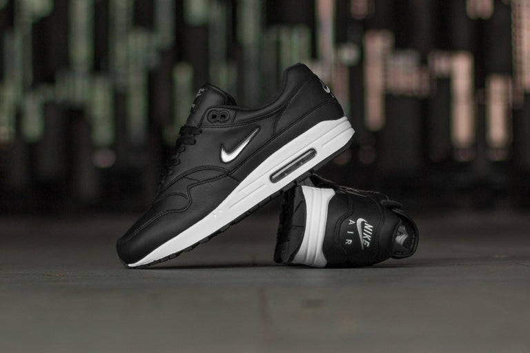 nike air max 1 premium sc white black jewel black diamond