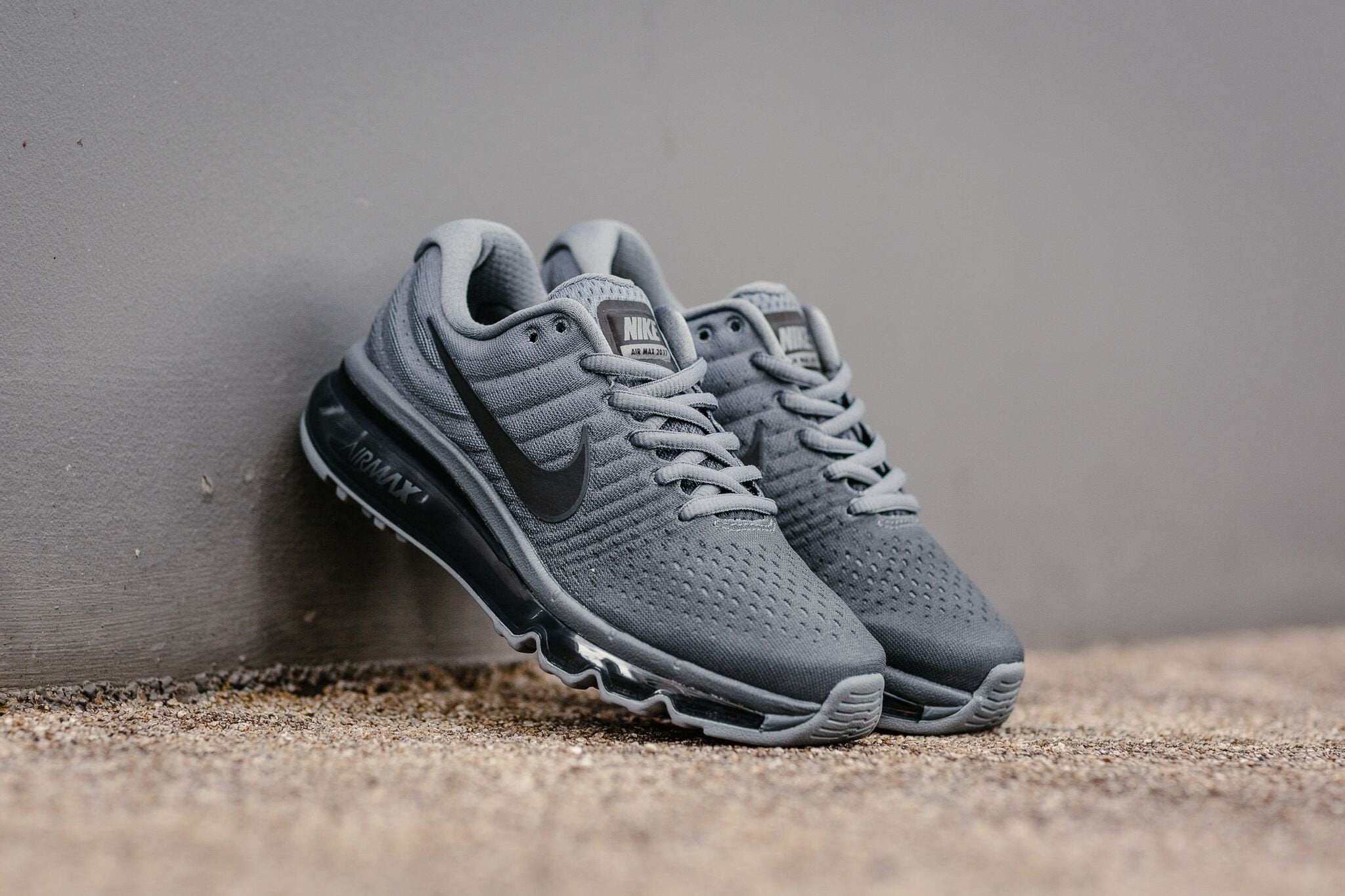 sneakers for cheap 11dce 86104 nike air max 2017 grey