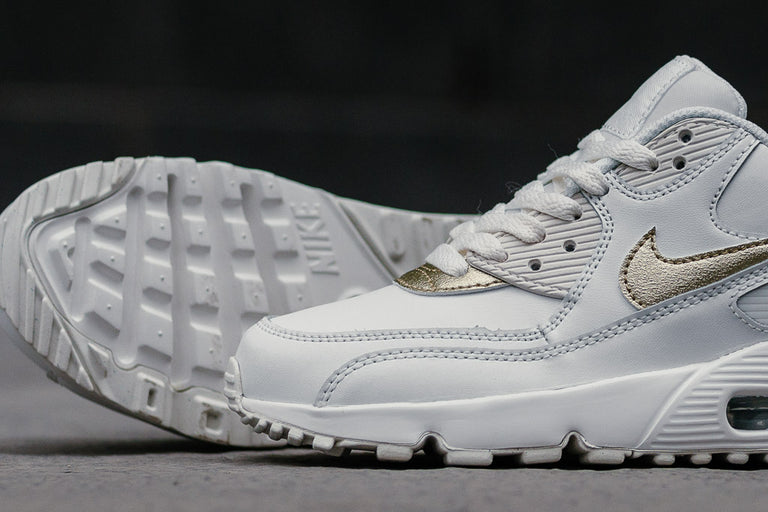 the best attitude 2578a 81724 ... nike air max 90 leather gs 833376 103 running nike soleheaven