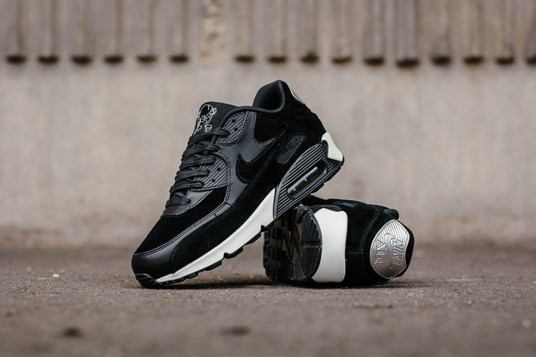more photos c5bbe 15144 Buy nike air max 90 premium black and white   Up to 40% Discounts