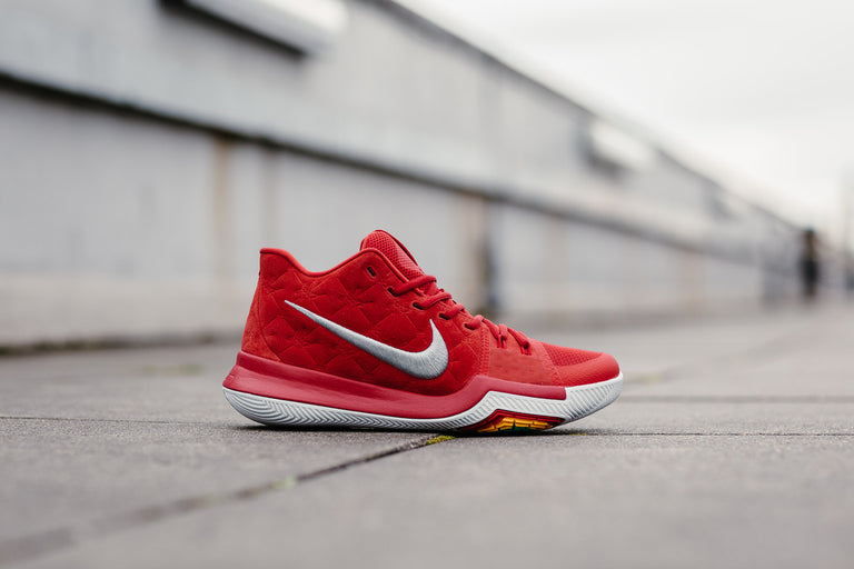 f4771a6b9cff70 nike kyrie 3 all over university red wolf grey plus free shipping