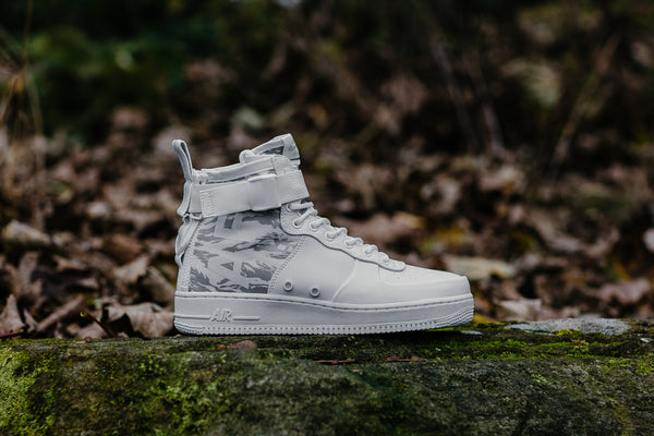Nike SF Air Force 1 Mid Premium 'Urban Soldier' AA1129-100, Basketball, Nike - SOLEHEAVEN