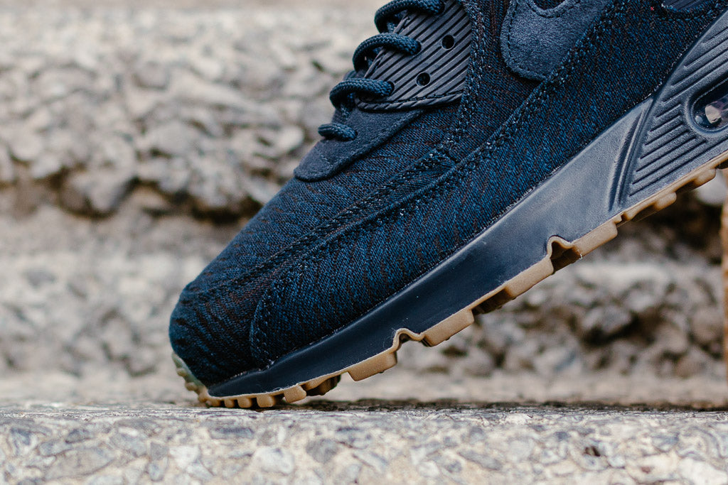 huge discount 8c3fd dd0f2 ... black  nike air max 90 premium jacquard 918358 400