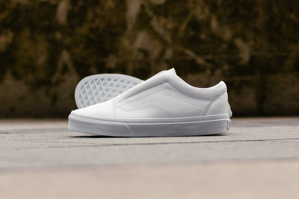 Vans Old Skool Laceless Leather VA3DPCL3H, Skate, Vans - SOLEHEAVEN