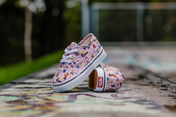 Vans x Peanuts Authentic 'Dance Party' Infants VA38E7QQ3, Skate, Vans - SOLEHEAVEN