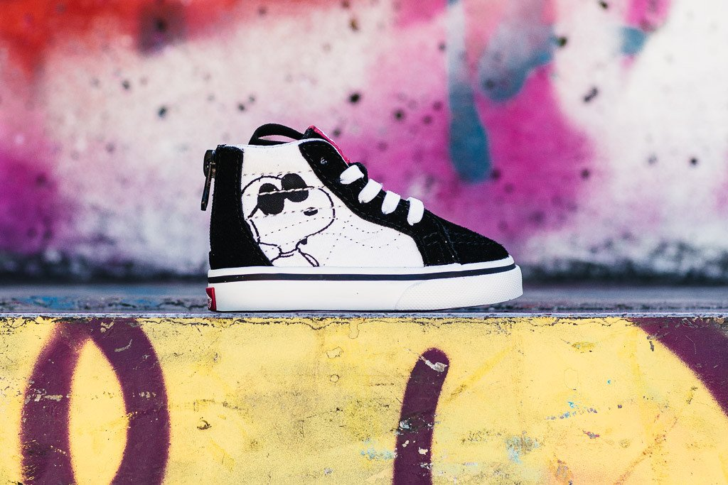 Vans x Peanuts Sk8-Hi Zip Infants 'Joe Cool' VA32R3OQU