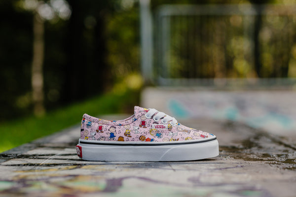 Vans x Peanuts Authentic 'Dance Party' Kids VA38H3QQ3, Skate, Vans - SOLEHEAVEN
