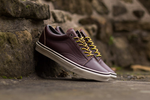 Vans Old Skool Leather Premium VA38G1OE5, Skate, Vans - SOLEHEAVEN
