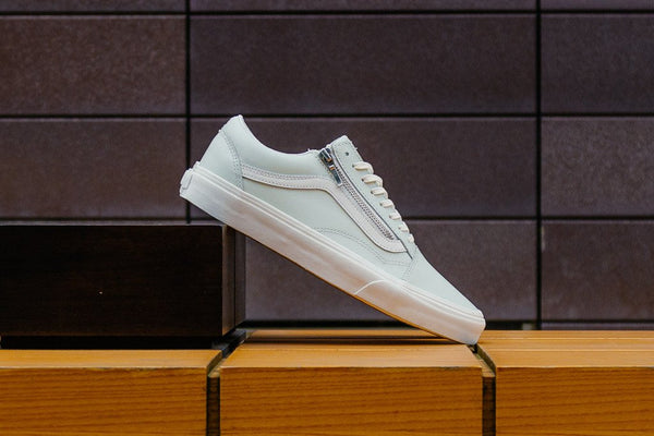 Vans Old Skool Zip Leather VA3493MRI, Skate, Vans - SOLEHEAVEN