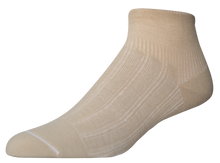Load image into Gallery viewer, PRIMARY COPPER TWIST ANKLE COMPRESSION SOCK