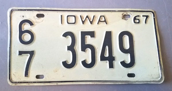 State Vehicle/Trailer/Camper Plates
