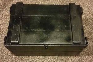 Box, Touched up with Black Paint
