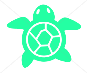 Turtle Decal (Free Shipping)