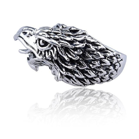 Free Eagle Head Ring