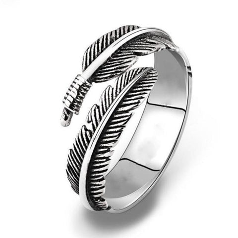 Free Feather Ring