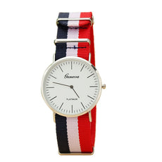 Tri-Color Fabric Band Watch | FREE For A Limited Time