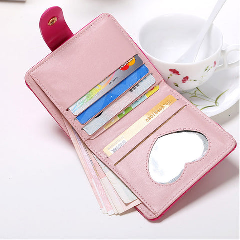Candied Button Folded Wallet | FREE For A Limited Time