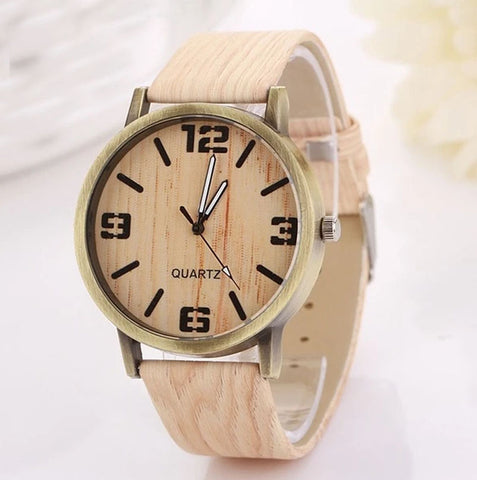 Wood Style Watch | FREE For A Limited Time