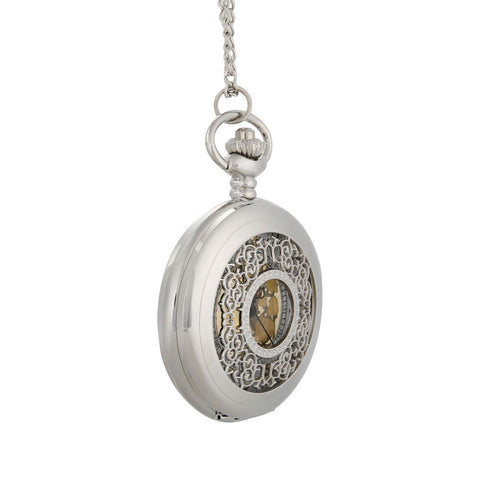 Gold Face Pocket Watch