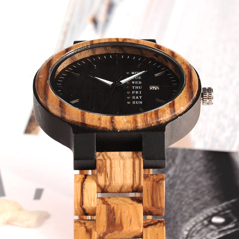 Wooden Eco Watch