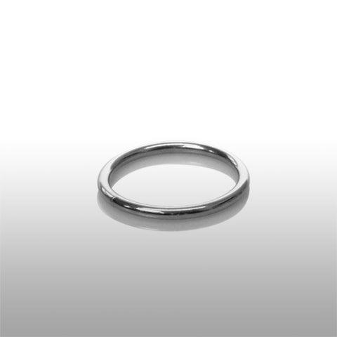 Basic Chrome Cock Ring